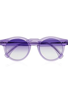 I need these lavender hued sunglasses.