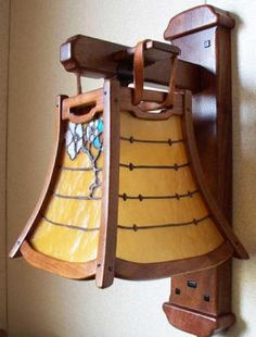 Greene and Greene Sconce light From Gamble House