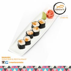 #CrispySalmon Lets order: Naniura Sushibar Restaurant Jakarta Timur 021-86611789 || Tag ur reviews #NaniuraSushi #Sushi #FoodPorn #SushiLover #SushiResto #SushiRoll