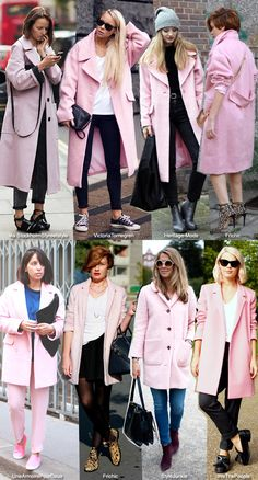 In Fashion: Pink Coats