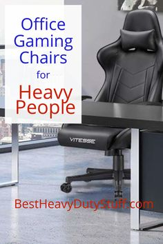 Comfortable high weight capacity gaming chairs that are stylish for work or gaming. Great for big and heavy people. Office Gaming Chair, Office Chairs, Brown Leather Recliner Chair, Comfortable Office Chair, Wrought Iron Patio Chairs, White Dining Chairs, Executive Chair, Desk Chair, Chair Design