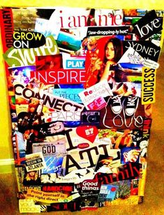 Vision board want to make one