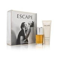 Escape by Calvin Klein for Women 2 Piece Set Includes: 1.7 oz Eau de Parfum Spray + 2.5 oz Bath and Shower Gel by Calvin Klein. $39.99. Buy Calvin Klein Gift Sets - Escape by Calvin Klein for Women 2 Piece Set : 1.7 oz Eau de Parfum Spray + 2.5 oz Bath and Shower Gel