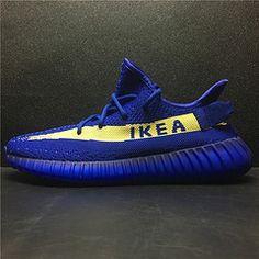 63d506fa3 IKEA x adidas Yeezy Boost 350 Customs - Yeezy Boost - Adidas
