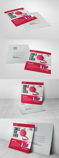 Mutipurpose Invitation Post Card . Wedding Card Templates