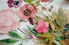 paper flowers | Flickr - Photo Sharing!