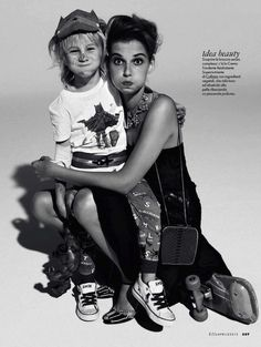The Terrier and Lobster: Mommy Dearest: Giedre Dukauskaite by Mark Pillai for Elle Italia April 2013