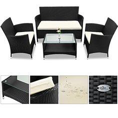 Schon Rattan Lounge Mit Stahlgestell Mailand Braun | Garten Und Heimwerken |  TecTake | Pinterest | Mailand, Rattan Und Lounges