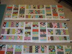Free pattern - Moda Bake Shop: Sugar Pop N Change Quilt. Jelly roll quilt