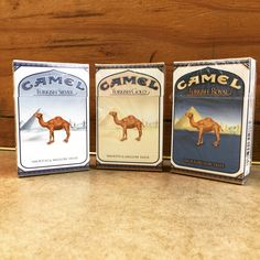 Camel Turkish - Silver - Gold - Royal