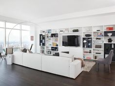 Room With a View in Contemporary Condo Living from HGTV