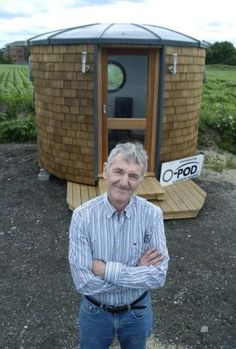 Aidan Quinn has designed innovative eco pods Eco Pods, Aidan Quinn, Gone Fishing, Tiny Living, Biking, Homesteading, Tiny House, Small Spaces, Beds