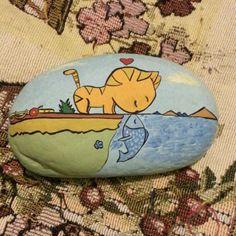 我相信这是一张很多人都喜欢的图~【淘宝店铺:岩颜手绘】- painted rock / stone