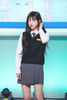 Kpop Girl Groups, Kpop Girls, Rapper, Oh My Girl Yooa, Web Drama, Only Girl, School Uniform, My Sunshine, Sulli