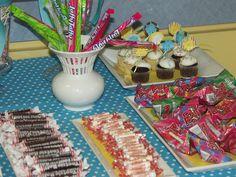 Sunrise Preschool Open House Candy Table2