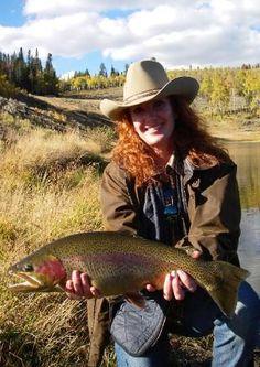 Big Colorado trout pictures More