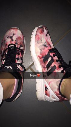 Zx flux Adidas  flower  on We Heart It