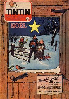 Journal de TINTIN édition Française N° 269 du 17 Décembre 1953