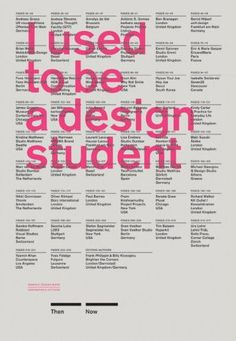 I Used to Be a Design Student: Advice on Design and Life from Famous Graphic…