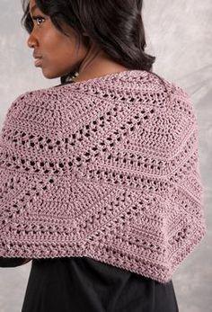 Closing Fans Crochet Shawl by Ryan Hollist