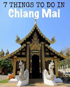 http://www.greeneratravel.com/ Cambodia Tours 7 Things to do in Chiang Mai, Thailand #ChiangMai