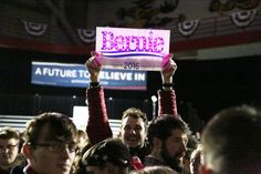 Bernie Sanders in Iowa: Strong youth support threatens Clinton's 'inevitable' candidacy