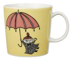 Muumi-muki Pikku Myy Moomin mug/cup, Little My, Arabia, Finnish Design Little My Moomin, Moomin Mugs, Classic Dinnerware, Tove Jansson, Vides, Red Kitchen, Kitchen Stuff, Kitchen Dining, My Tea