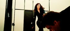 Black Widow (Scarlett Johansson) in Iron Man 2