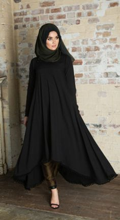 2092 best images about Fashion: Hijab Styles on Islamic Fashion, Muslim Fashion, Modest Fashion, Girl Fashion, Fashion Outfits, Fashion Ideas, Fashion 2016, Fashion Quotes, Fashion Black