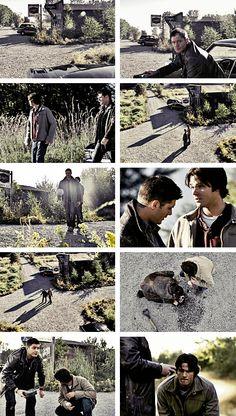 [gifset] 2x08 Crossroad Blues #SPN #Dean #Sam