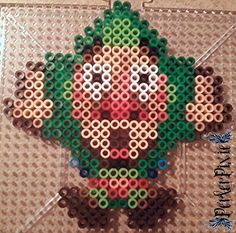LoZ Tingle perler beads by PerlerPixie