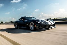 Hennessey Dodge Viper Venom 1000 Twin Turbo 8.4 Litre Twin Turbocharged V10 - Power: 1120bhp - Torque: 1092lb Ft - 0-60mph: 2.7 Seconds