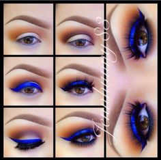 18 eye makeup tutorial for brown eyed girls Hey! Brown eyed girls, need to take advantage of your exotic looks? Make your pretty hazel eyes pop with these eye make up ideas tutorials. Gorgeous Makeup, Pretty Makeup, Love Makeup, Beauty Makeup, Makeup Tips, Makeup Ideas, Makeup Hacks, Amazing Makeup, Makeup Designs