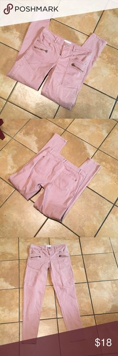 Jolt Cargo style pants Fun color pants with lots of hip hugging stretch! Super skinny ankle fit for all types of wear. Size 25, mid rise Nordstrom Pants Skinny