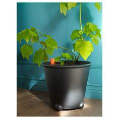 IKEA - PS FEJÖ Self-watering plant pot black