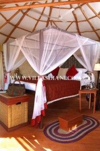 The small luxury hotel Cove Retreat in Diani beach boasts 6 exclusive tree villas with own whirlpool. The hotel is one of the most romantic in Kenya coast!