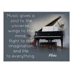 Shop Music Quote - Plato - Art Print created by WordsAreWonderful. Piano Quotes, Music Quotes, Life Quotes, Dont Quit Poem, Create Quotes, Quote Posters, Music Posters, Always Learning, Scripture Quotes