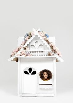 The Flower Cottage. Dreaming in Cardboard | Kinfolk. Photo by Neil Bedford, Set design by Helen MacIntyre