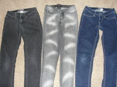 Spray paint pants are soo hot right now (in voice of Mugatu from Zoolander)
