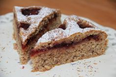 Linzer cake with batter - backen - Desserts Perfect Cheesecake Recipe, Cheesecake Recipes, Beer Can Cakes, Carrot Cake Loaf, Cannoli Cake, Cake In A Can, Linzer Torte, Crazy Cakes, Chocolate Chip Oatmeal