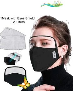 Face Mask With Eyes Shield.(Use 'Pin20' code for 20% discount)  <br>