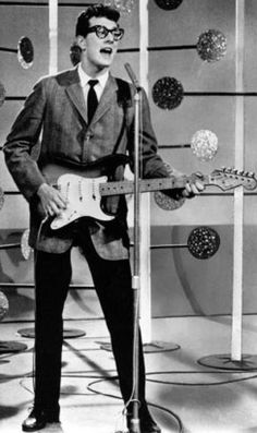 "Buddy Holly, was a Texas singer-songwriter and a pioneer of rock and roll. Although his success lasted only a year and a half before his death in an airplane crash, Holly is described by critic Bruce Eder as ""the single most influential creative force in early rock and roll"