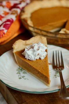 Libbys Pumpkin Pie, Libby's Pumpkin, Vegan Pumpkin Pie, Vegan Pie, Pumpkin Pie Recipes, Vegan Sweets, Vegan Desserts, Vegan Recipes, Perfect Pumpkin Pie