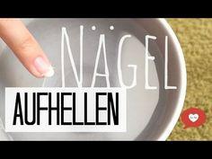 PIN TEST Nägel aufhellen // weisser machen // bleichen #4 deutsch - YouTube