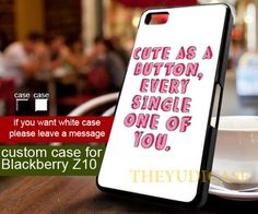 cute as a button 1D one direction - Phone Case | TheYudiCase - Accessories on ArtFire
