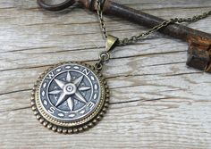 From Etsy seller: CompassRoseDesign  -Handmade Steampunk Jewelry & Victorian Style Jewelry