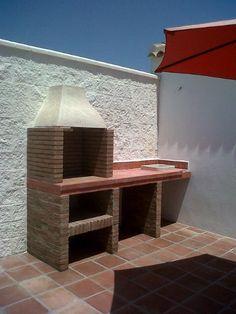 Asador de ladrillo patio pinterest - Barbacoa de obra casera ...