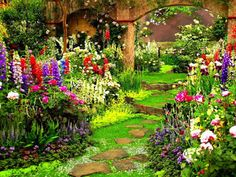 four seasons garden as featured on alan titchmarsh Home Garden