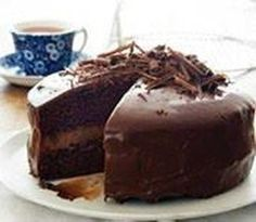 HEMELSE SJOKOLADEKOEK - WATERTANDRESEPTE VIR OUD EN JONK Cupcake Recipes, Baking Recipes, Cupcake Cakes, Dessert Recipes, Baking Tips, Cup Cakes, Bread Recipes, Easy Recipes, Kos