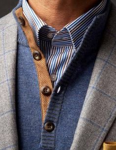 ♂ Masculine & elegance man's fashion wear These colors and textures details are fantastic!